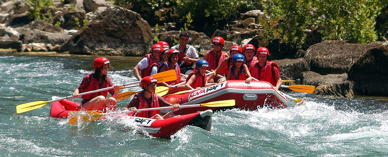 Bodrum Rafting Excursion